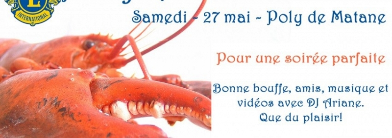 Party homards des Lions - 50e anniversaire