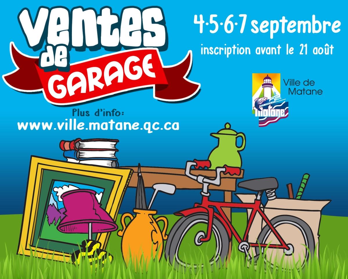 La ville vous informe ao t 2015 ville de matane - Prix de vente d un garage ...